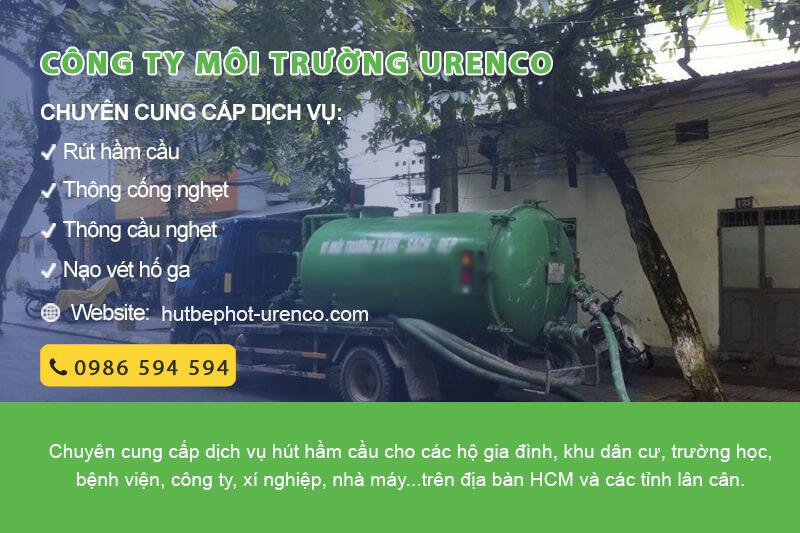 dịch vụ thông hút hầm cầu urenco