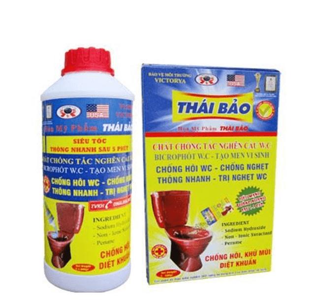 Bột thông cống nhãn hiệu Thái Bảo