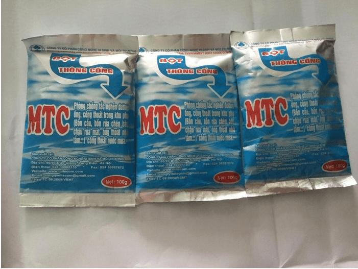 Bột thông cống nhãn hiệu MTC