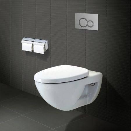 Bồn vệ sinh có thể treo lên tường