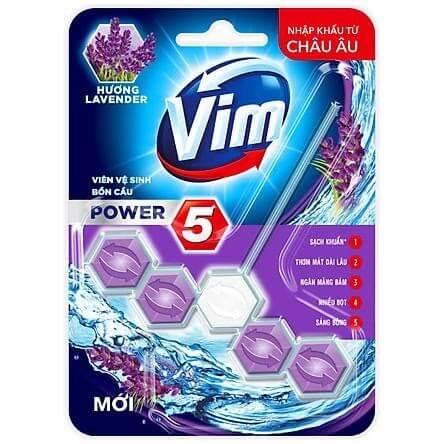 Viên tẩy rửa bồn cầu đến từ thương hiệu tẩy rửa Vim